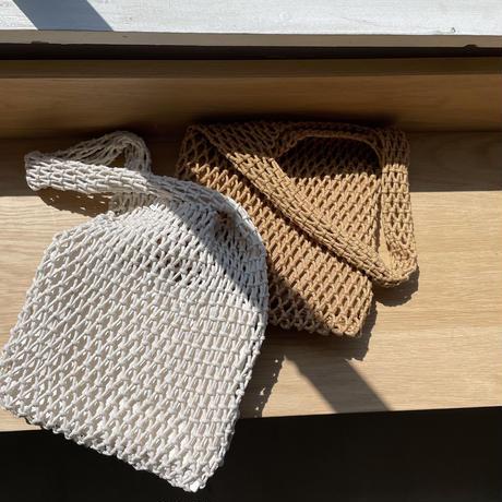 《予約販売》pouch set mesh bag/2colors_na0273