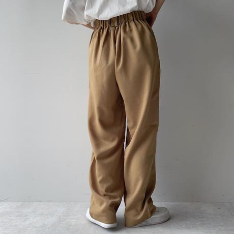《予約販売》quality summer wide pants/2colors_np0391