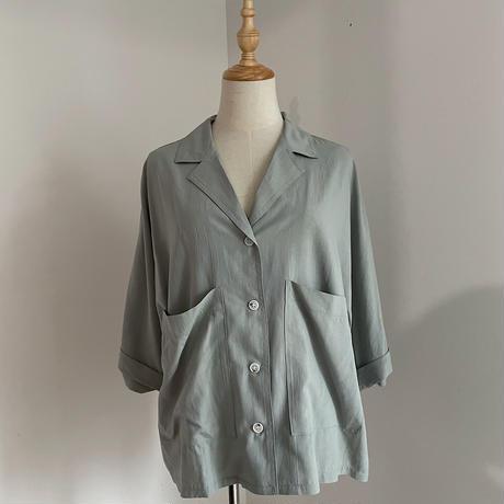 《予約販売》pocket shirt/2colors_nt0915