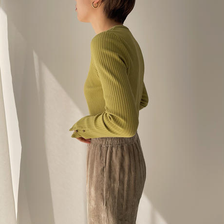 【nokcha original】bottan lady tops/2colors_nt0877