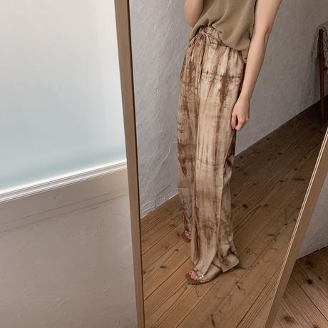 《予約販売》taidai slit pants /2colors_np0207