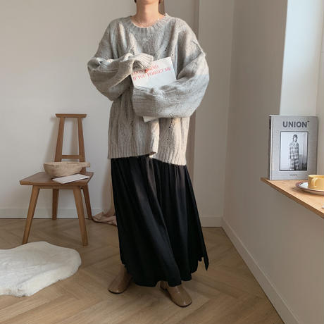 ✳︎予約販売✳︎layered lady skirt/2colors_ns0021