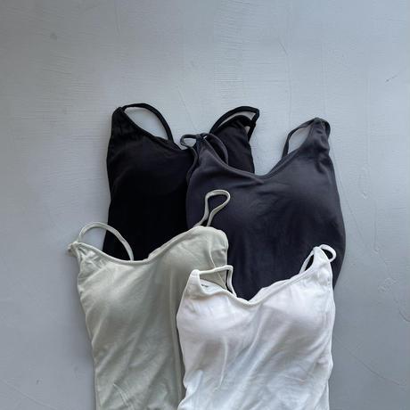 《予約販売》lady bra camisole/4colors_nt1029