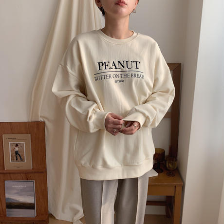 《予約販売》PEANUT mtm/2colors_nt0317