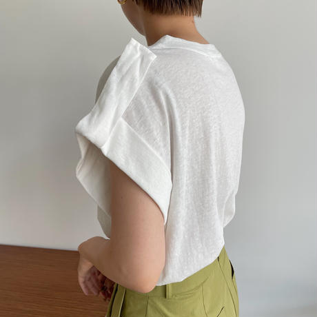 《予約販売》shoulder tee/2colors _nt0996