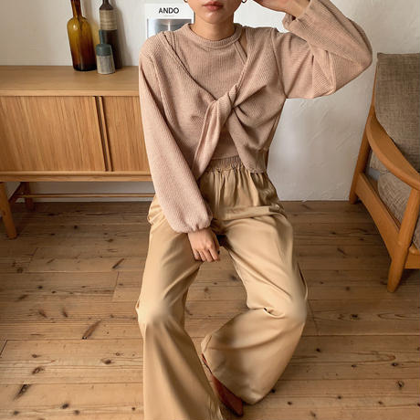 《予約販売》2set ennui tops/3colors_nt0598