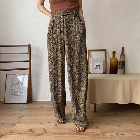 《予約販売》ethnic quality pants/2colors_np0203