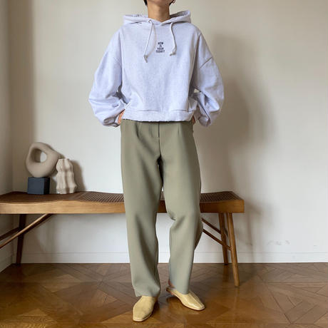【nokcha original】three bottan pants/khaki_np0345