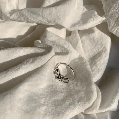 ✳︎予約販売✳︎silver925 ribbon ring_na0066