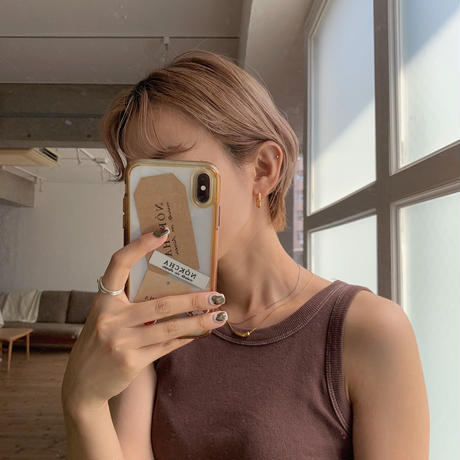 《予約販売》silver925 drop necklace/2colors_na0193
