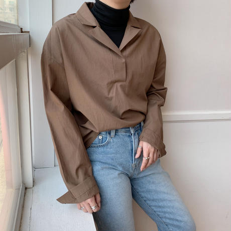 ✳︎予約販売✳︎skipper shirt/2colors