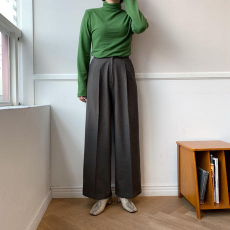✳︎予約販売✳︎wide long PT/2colors