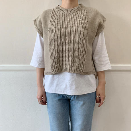 ✳︎予約販売✳︎cable knit vest/3colors_nt0262