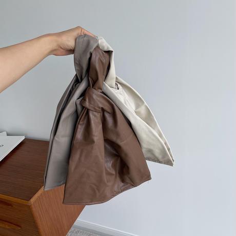 《予約販売》eco lether ennui bag/3colors_na0294