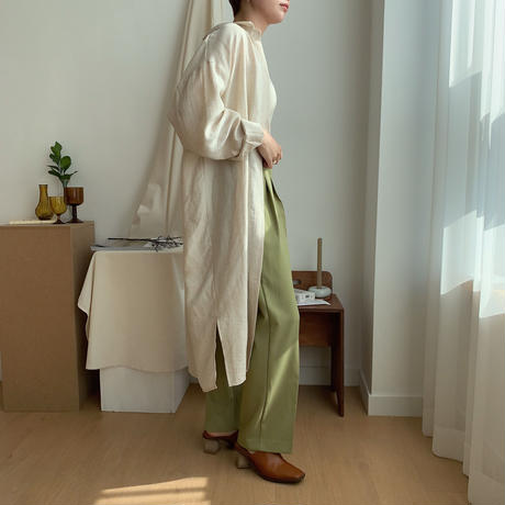 《予約販売》tuck lady pants/2colors_np0153