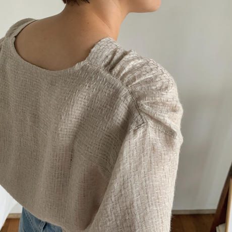 《予約販売》texture lady blouse/2colors_nt0462