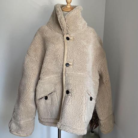 《予約販売》reversible boa over jacket/2colors_no0132