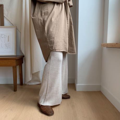 relax knit pants/2colors_np0044
