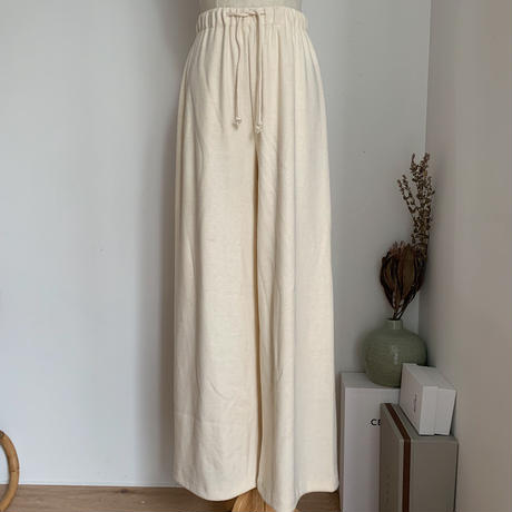 《予約販売》knit easy pants/2colors_np0295
