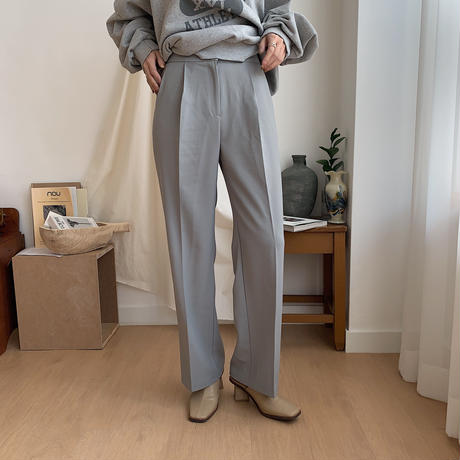 《予約販売》tuck slacks pants/2colors_np0140