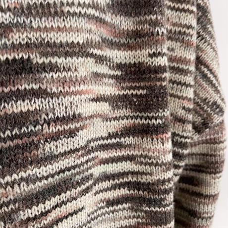 《予約販売》painting knit/2colors_nt1106