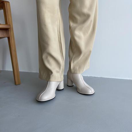 《予約販売》round boots/2colors_na0306