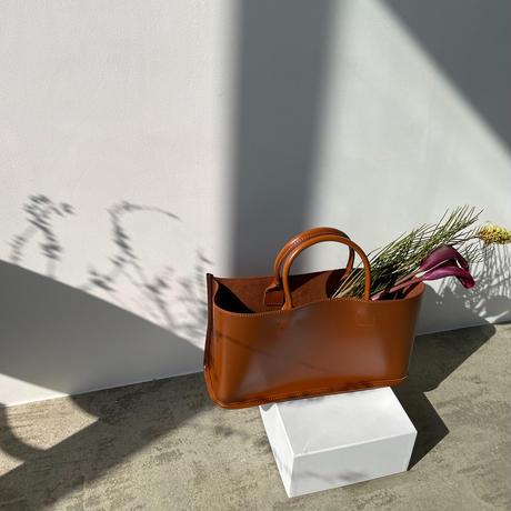 《予約販売》pouch set lady bag/camel_na0265