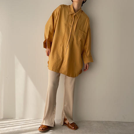 《予約販売》glossy over shirt/2colors_nt0882