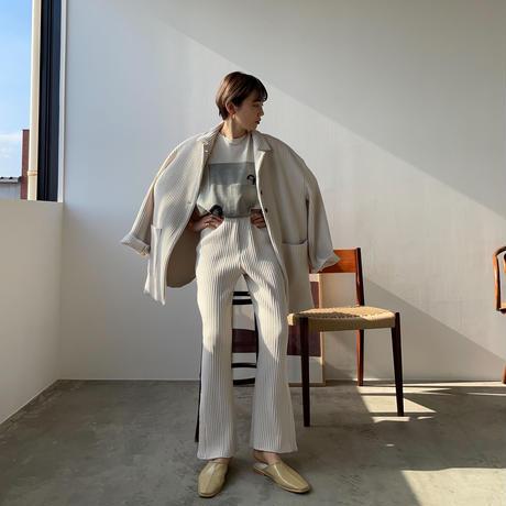 【nokcha original】over lib jacket/ ivory_no0150