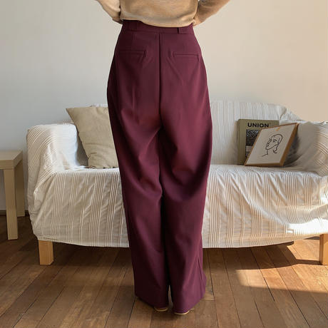 《予約販売》belt roop pants/2colors_np0289