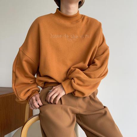 "【nokcha original】""latte de the vert""mtm/orange_nt1067"