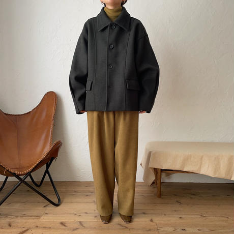 《予約販売》over middle coat/2colors_no0136