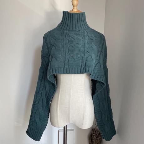 《予約販売》unique minimal cable knit_nt0798