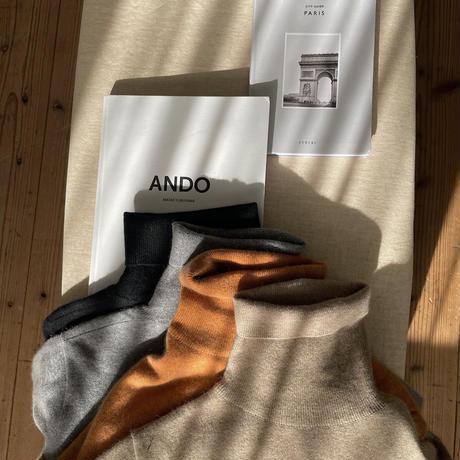 《予約販売》raccoon blend knit/4colors_nt0802
