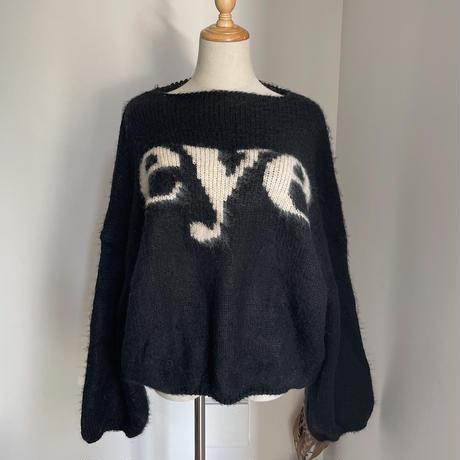 《予約販売》eye over knit/2colors_nt0786