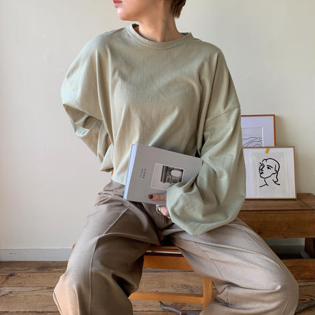 《予約販売》volume tee/2colors_nt0341