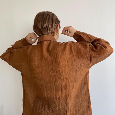 《予約販売》rincl sheer  blouse/2colors_nt1050