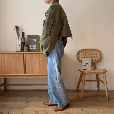 《予約販売》quilting liner military jacket/2colors_no0103