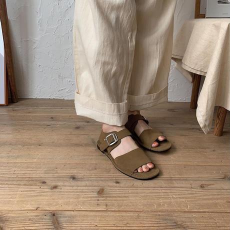 《予約販売》suede sandal/2colors_na0160