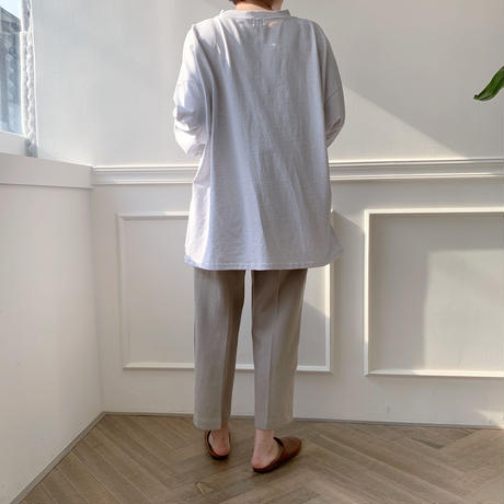 【NOKCHA  original】soft slacks/2colors_np0015