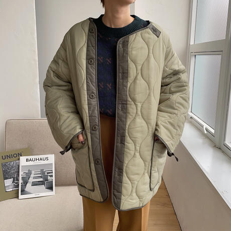 《予約販売》vintage quilting jacket/2colors_no0115