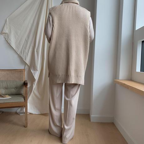✳︎予約販売✳︎warm knit vest_nt0109