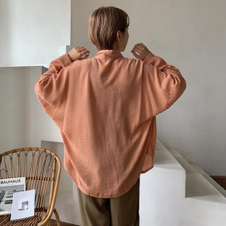 《予約販売》2way texture shirt/4color_nt0521
