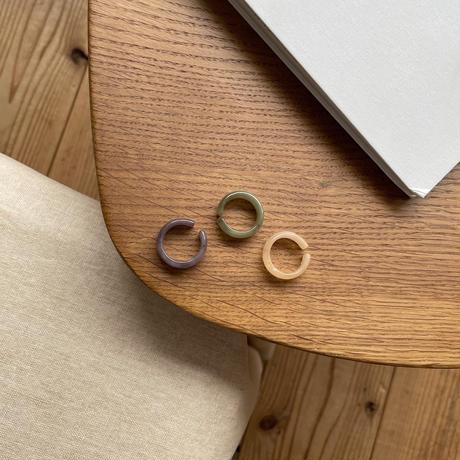 《予約販売》glossy ring/3colors_na0253