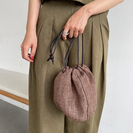 《予約販売》straw minimal bag/3colors_na0284