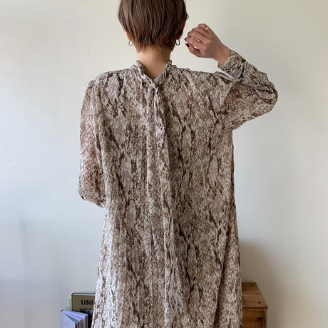 《予約販売》python one-piece/2colors_nd0038