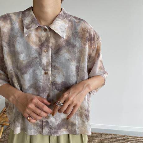 《予約販売》cloud sheer  blouse/2colors_nt1026