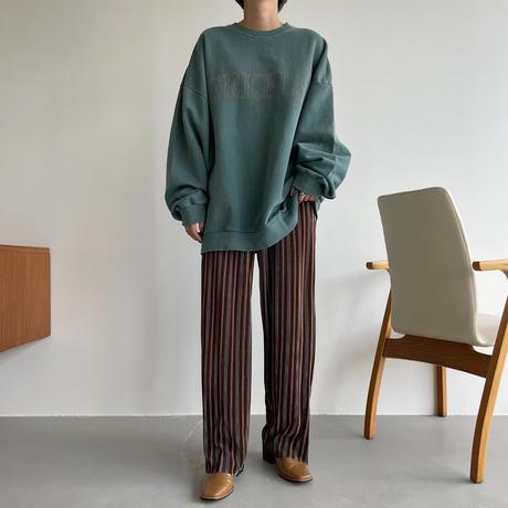 《予約販売》mulch stripe rincl pants_np0463