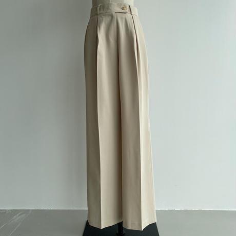 《予約販売》long daily wide pants/2colors_np0464