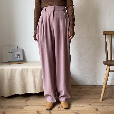 《予約販売》s/s color pants/3colors_np0333
